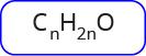 Rumus molekul untuk aldehid dan keton