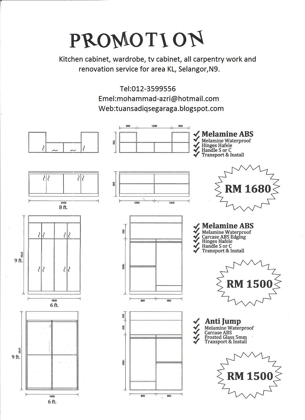 Harga Kitchen Cabinet Sekaki | Digitalstudiosweb.com
