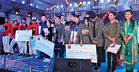 Darjeeling Rising Star mega talent hunt show concluded