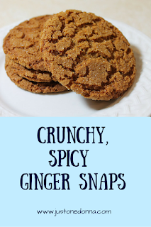 Crunchy, Spicy Ginger Snaps