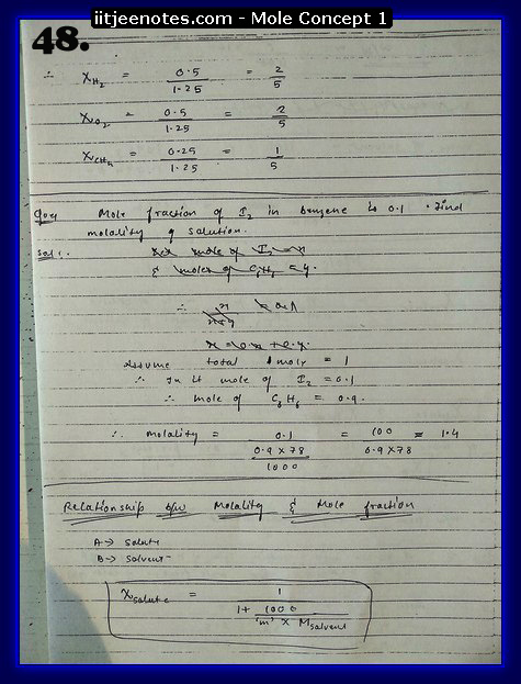 Mole Concept Notes IITJEE16