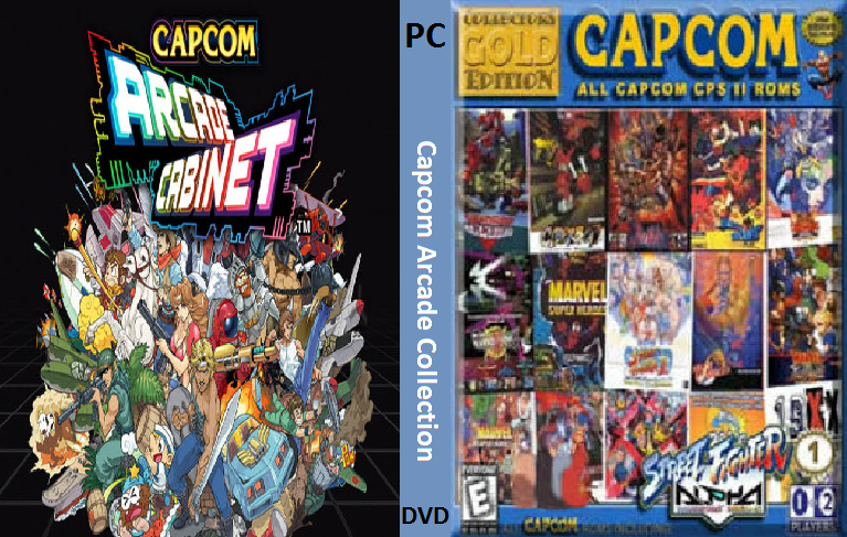 Capcom Arcade Collection PC DVD Capa
