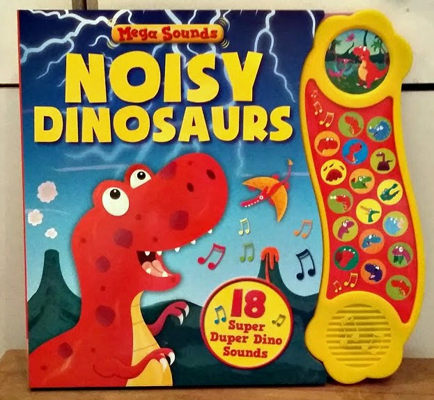 The Works Noisy Dinosaurs Book