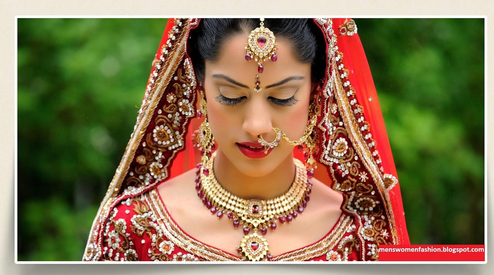 Latest Bridal Weddings Stylish Jewelry For Girls - Sari Info