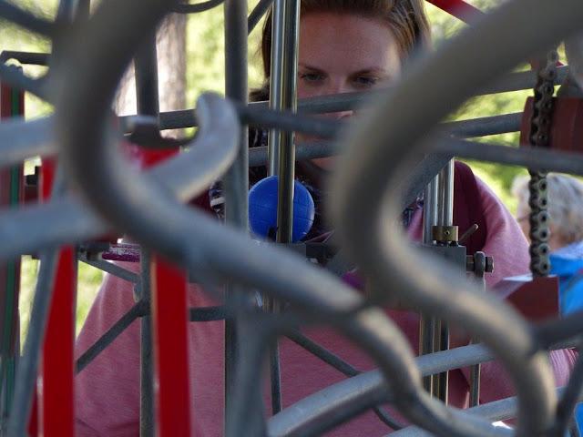 Schweiz Bern Urlaub mit Hund Gurten Gurtenpark Spielpark Migros Kugelbahn