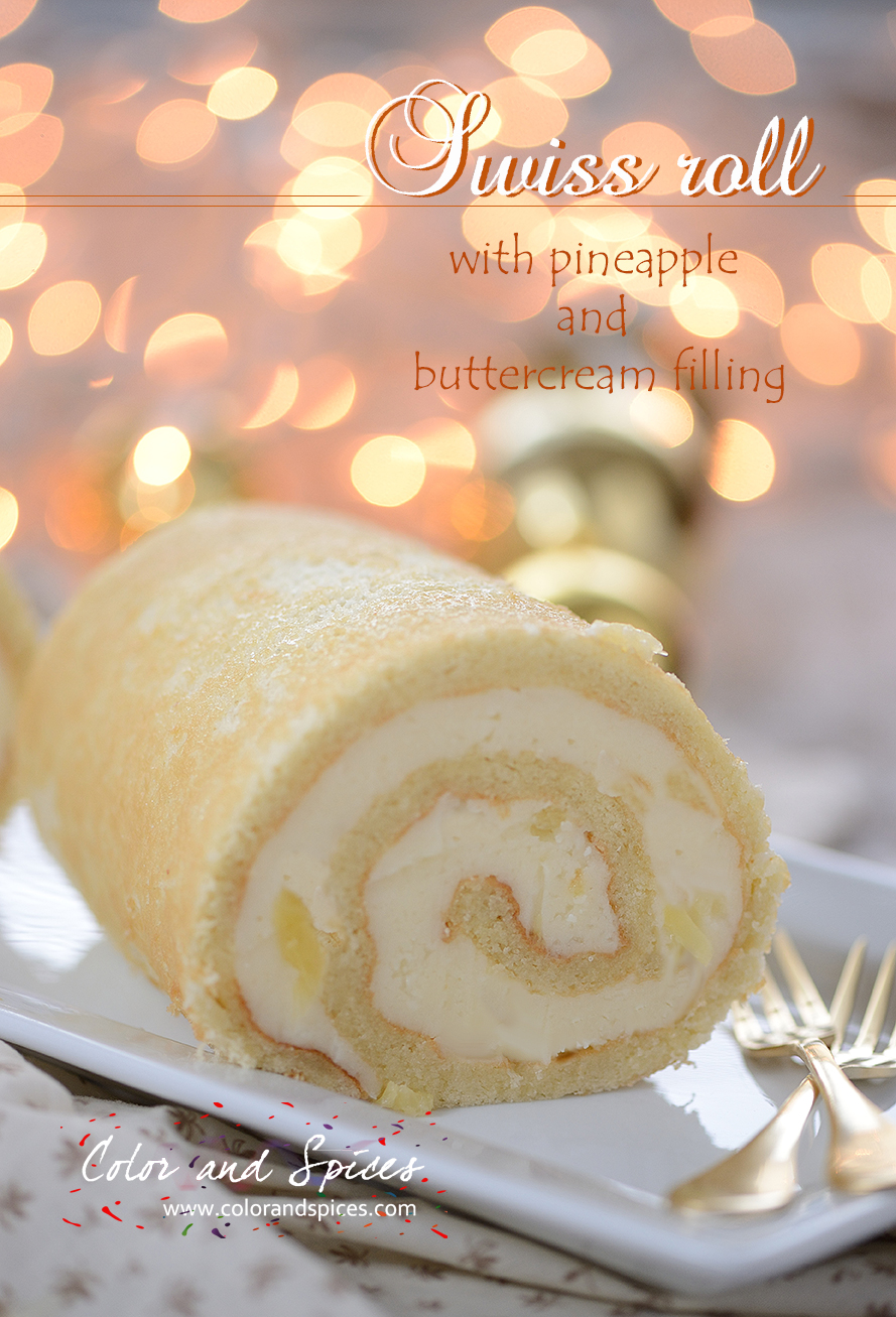 Vanilla Jelly Roll Cake Recipe