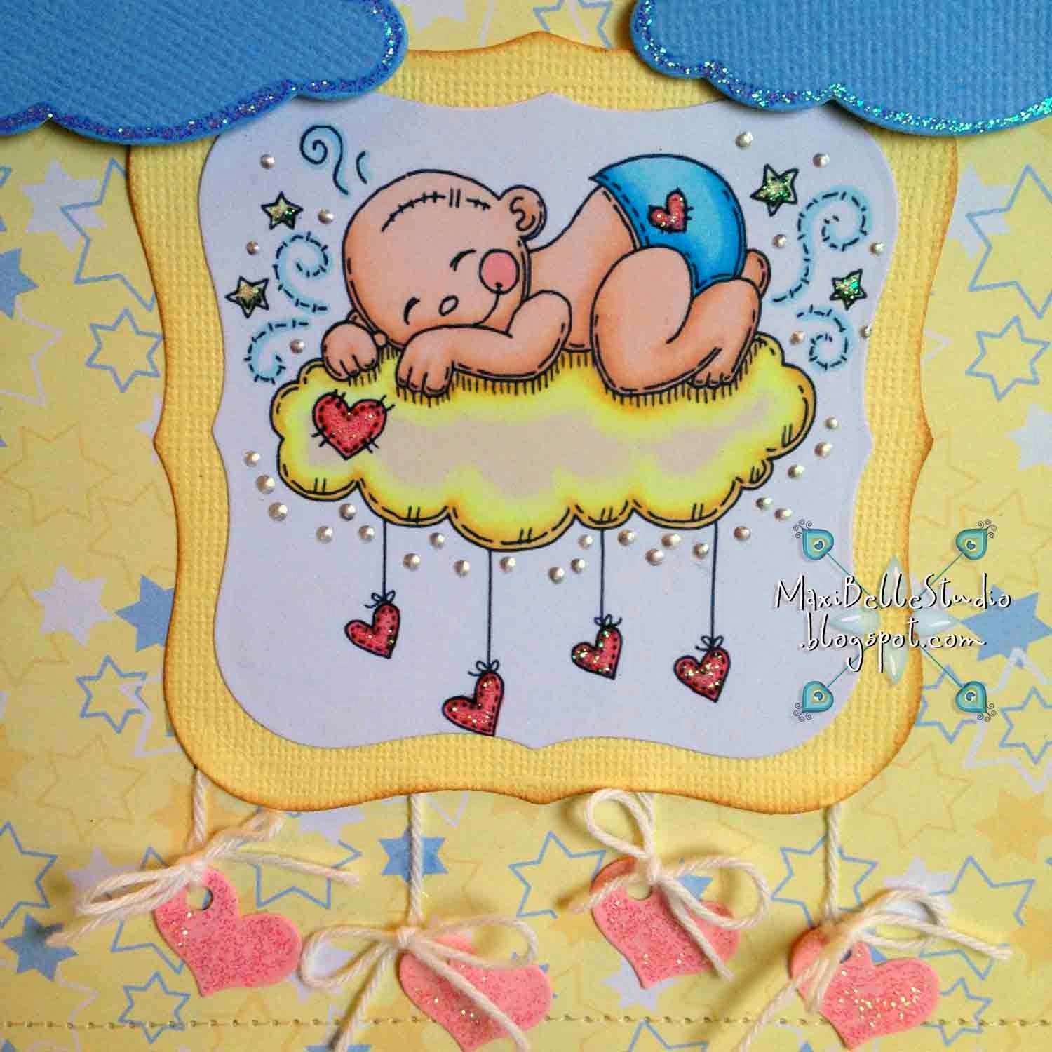 Meljen Designs Cuddle Cloud Baby