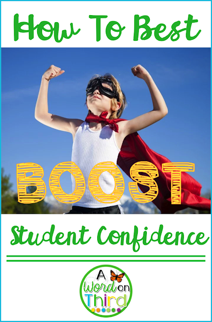 How To Best Boost Student Confidence with A Word On Third