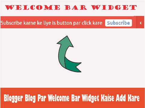 blogger-blog-par-welcome-bar-widget
