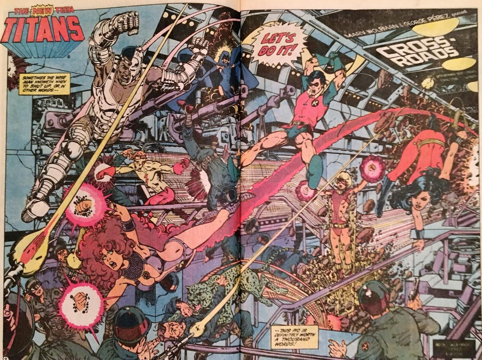 Chris Is On Infinite Earths New Teen Titans 39 1984-1104