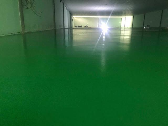 Quy trình thi công sơn nền sơn sàn epoxy của Phuc Khang Trang Care