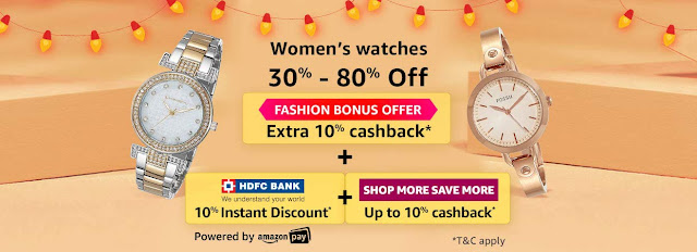 Women's Watches 30% to 80% off