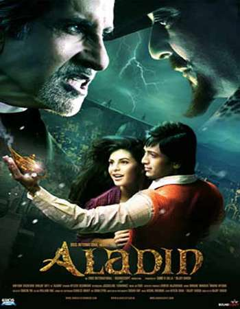 Poster Of Aladin 2009 Hindi 550MB HDRip 720p HEVC Watch Online Free Download downloadhub.net
