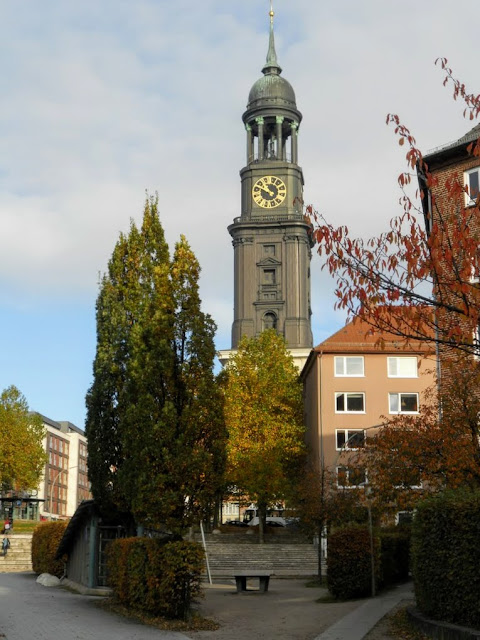 Hamburg points of interest: St. Michel's Church