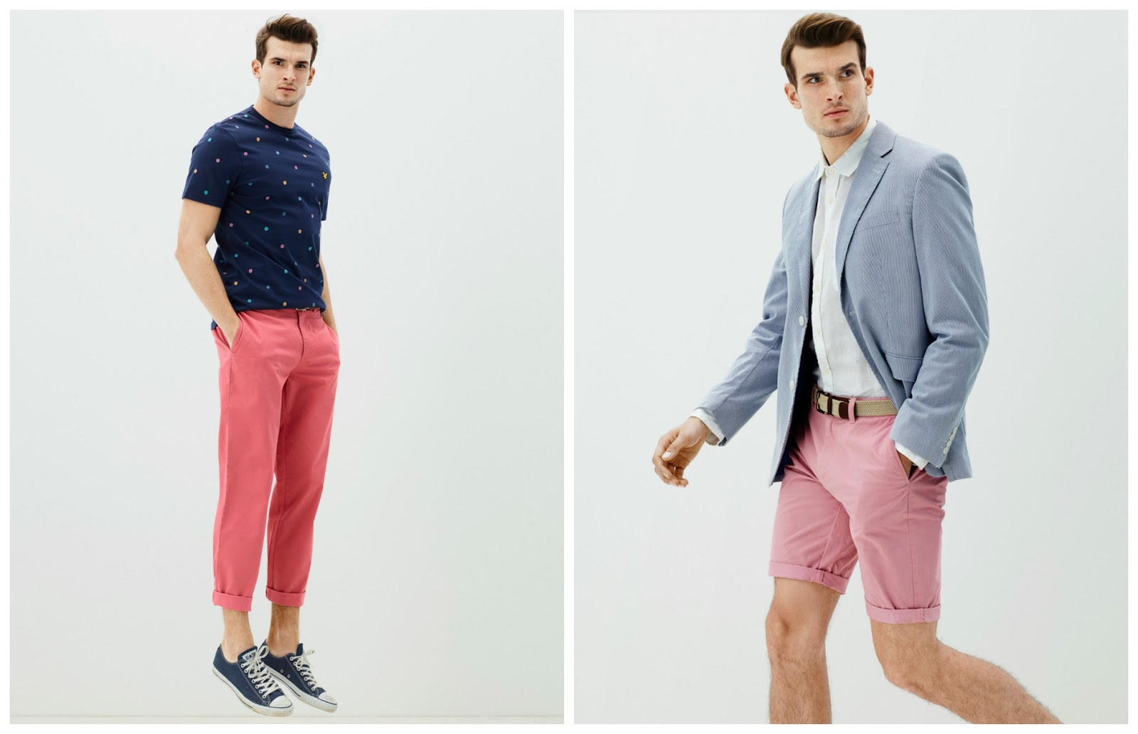 Real Men Wear Pink With House Of Fraser That Dapper Chap