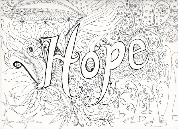 Very Advanced Coloring Pages For Adults  Hope Before Coloring Will Be  Hand Coloring This