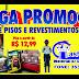 Promoção de pisos e revestimentos no Castelinho; Confira ofertas