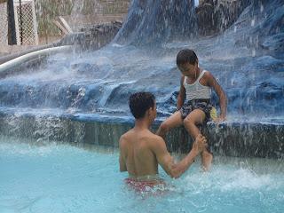 liburan ceria bersama anak di water blaster semarang