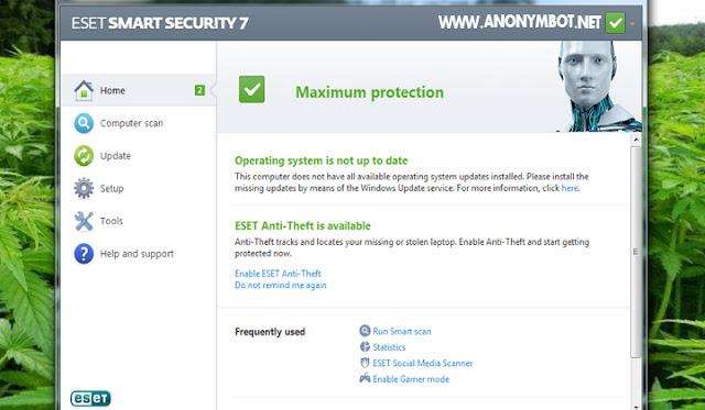 Antivirus ESET dapat mendeteksi dan menghapus Malware Trojan, Shortcut. Worm, Exe dan Virus jenis terbaru Adware (semacam iklan/ads popup)