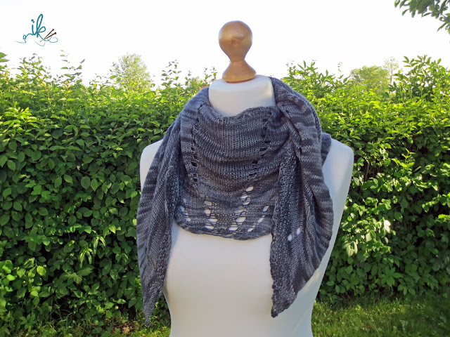 Grey Shawl stricken - Strickanleitung