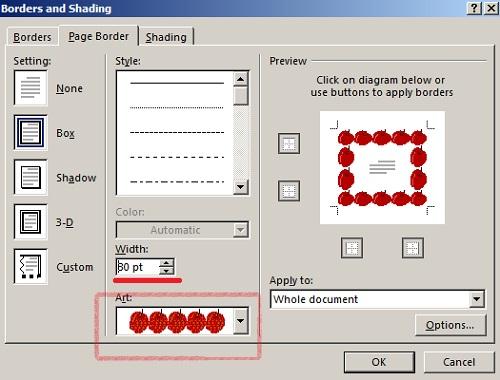 cara membuat bingkai di microsoft word 2003 tehnomac