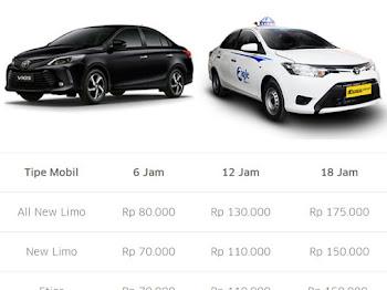 Info Sewa Mobil Uber untuk Narik Uber