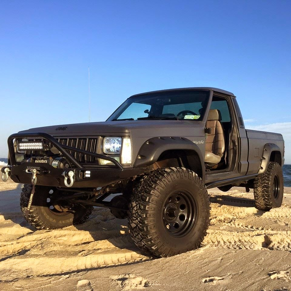 off road 4x4 images videos jeep cherokee xj pickup. Black Bedroom Furniture Sets. Home Design Ideas