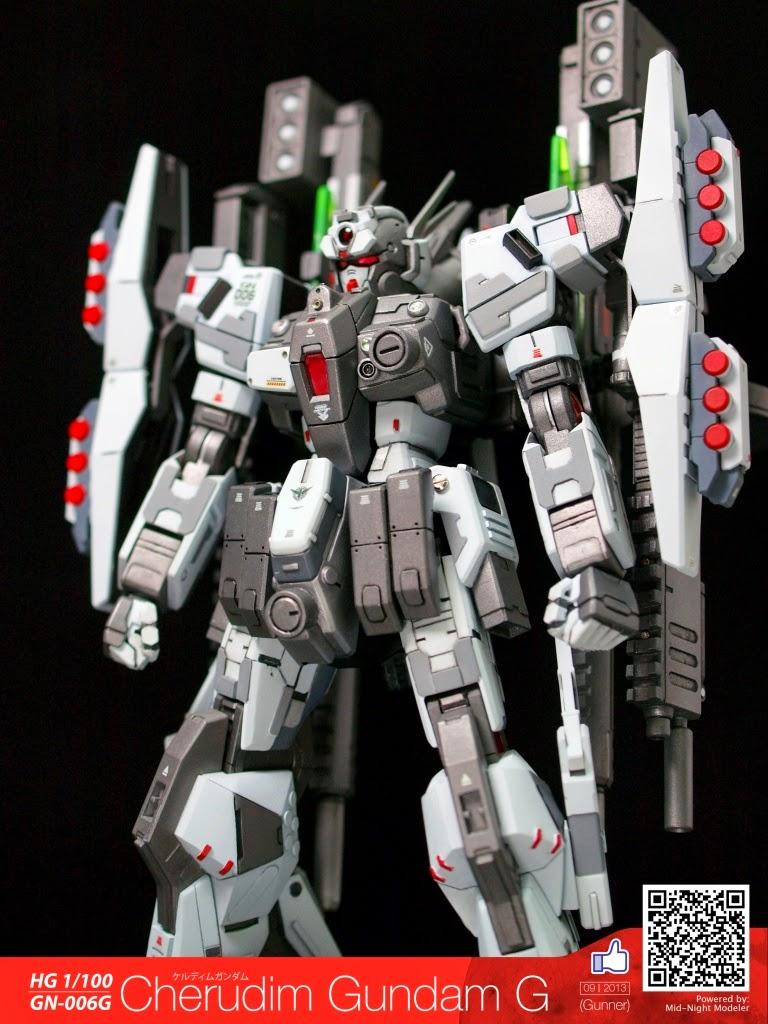 Custom Build: 1/100 Cherudim Gundam G - Gundam Kits ...