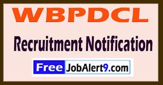 WBPDCL West Bengal Power Development Corporation Limited Recruitment Notification 2017 Last Date 21-06-2017