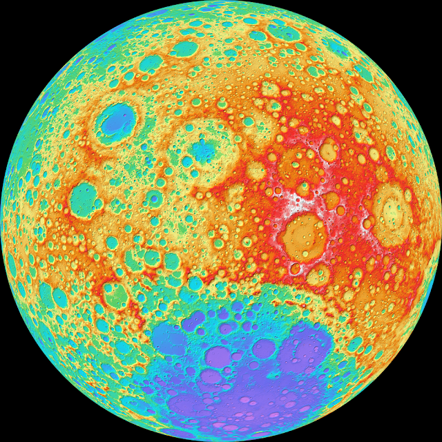 Lunar Topography