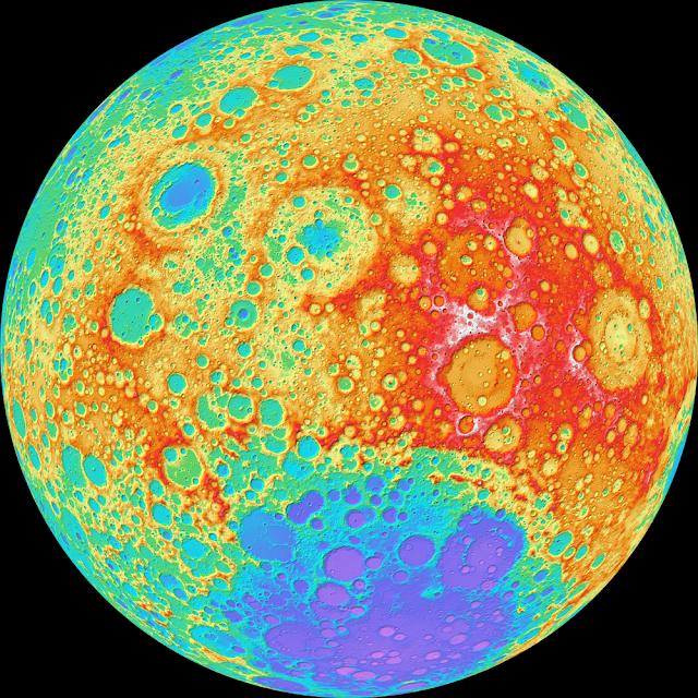 Lunar Topography
