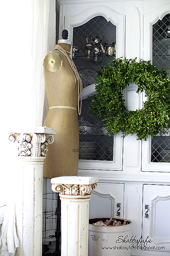 giant boxwood wreath