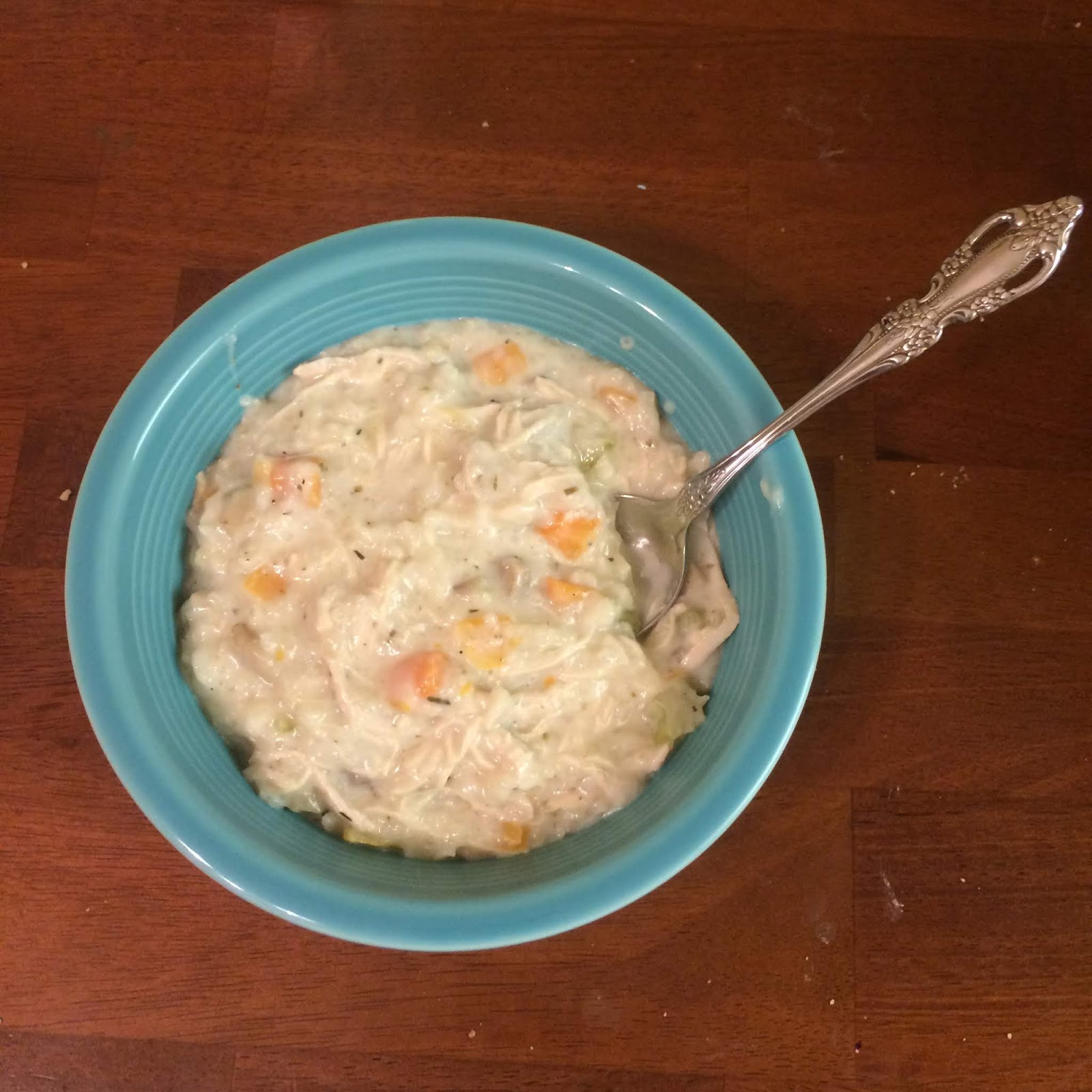 bowl of creamy soup