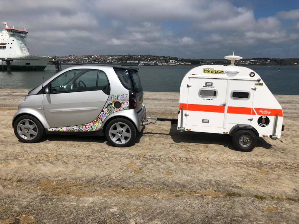 I Found This Online Think It Is Neat Am Looking For A Camper That Can Be Towed By Smart Or Other Similarly Sized Vehicle Since Might Ing