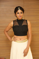 Roshni Prakash in a Sleeveless Crop Top and Long Cream Ethnic Skirt 104.JPG