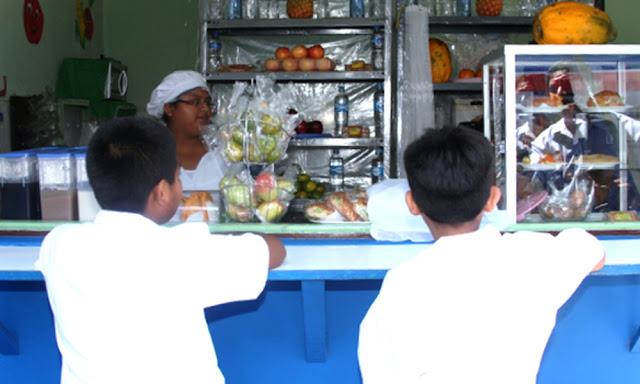 Minedu: Alimentos que podrán vender en quioscos escolares