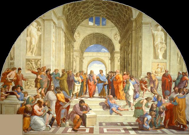 La escuela de Atenas (Rafael Sanzio, 1510-12)