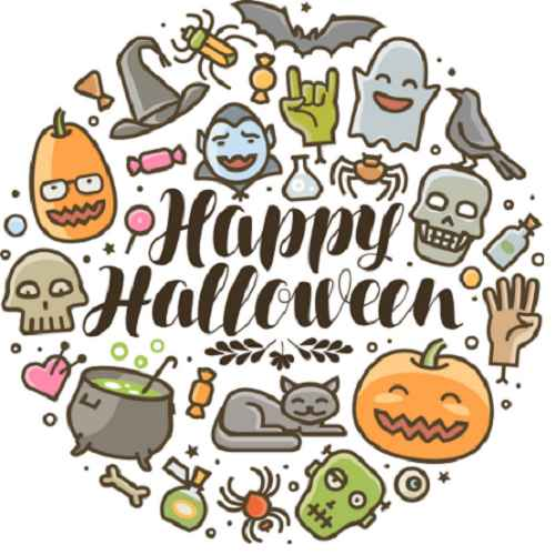 Cartoon Happy Halloween Images