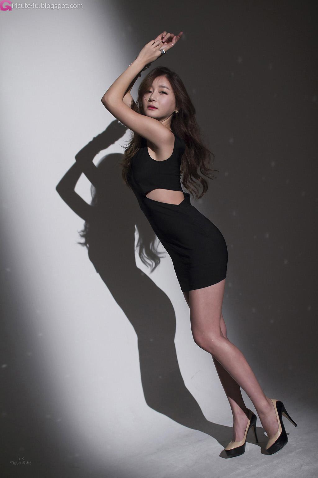xxx nude girls: Han Ga Eun - White Mini Dress