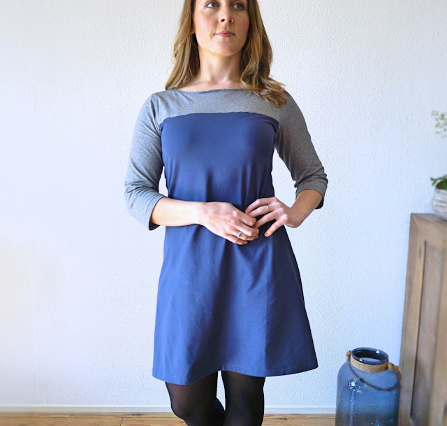 Coco.contrast.patternhack.Tillyandthebuttons.latestmake.jersey.cotton.stripes.makenine.march.2018.sewing.crafty.dressmaking.creativeliving.slowfashion.blogpost.