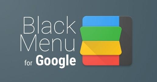 Black Menu for Google è un' estensione che contiene un ampio menù di servizi di Google