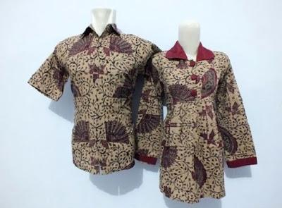 Baju Batik Seragam Guru Modis