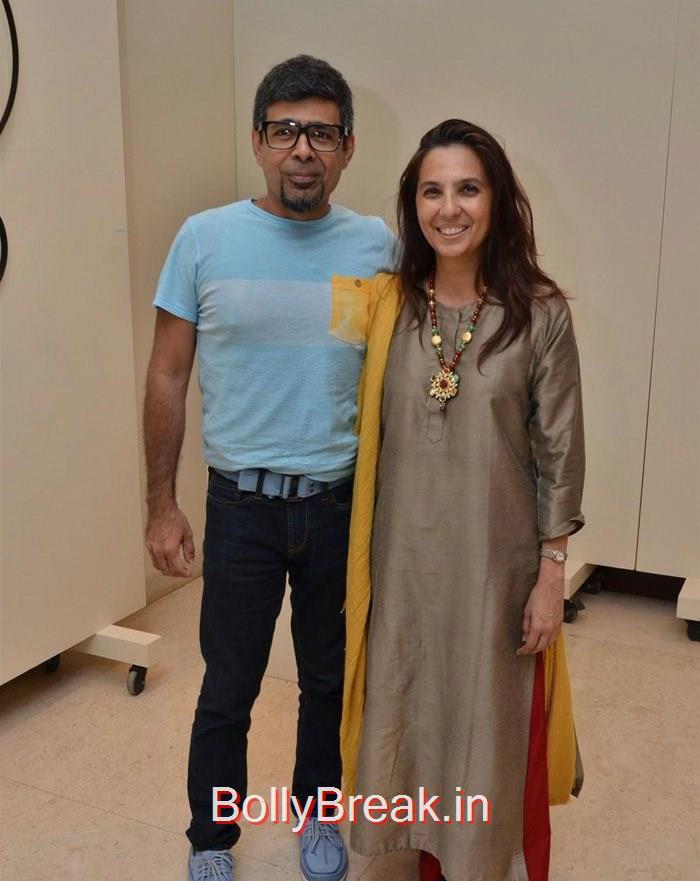 Imran Khan & Vidya Balan at Sculptors Show at Gallery Art & Soul