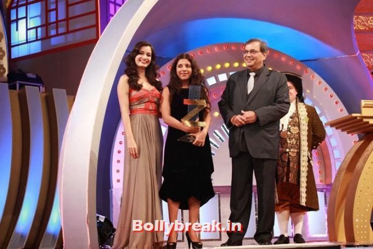 Dia Mirza, Zoya Akhtar and Subhash Ghai, Zee Cine Awards 2011-2013 Pics