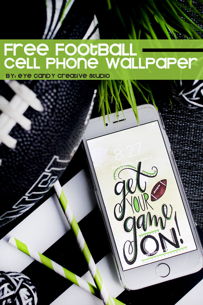 football wallpaper, football, cell phone wallpaper, get your game on