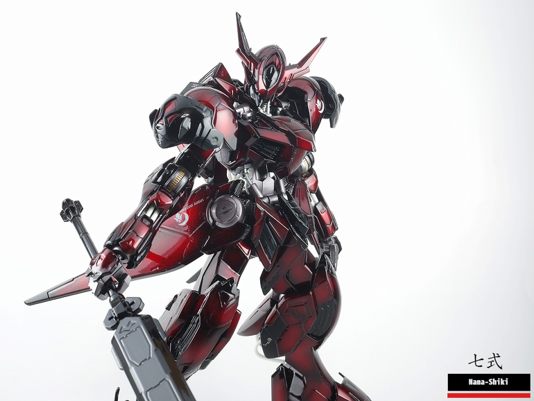 Custom Build: 1/100 Full Mechanics Gundam Barbatos Lupus [Candy Gloss Finish]
