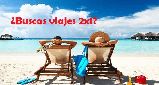 Mejores webs con ofertas 2x1 viajes