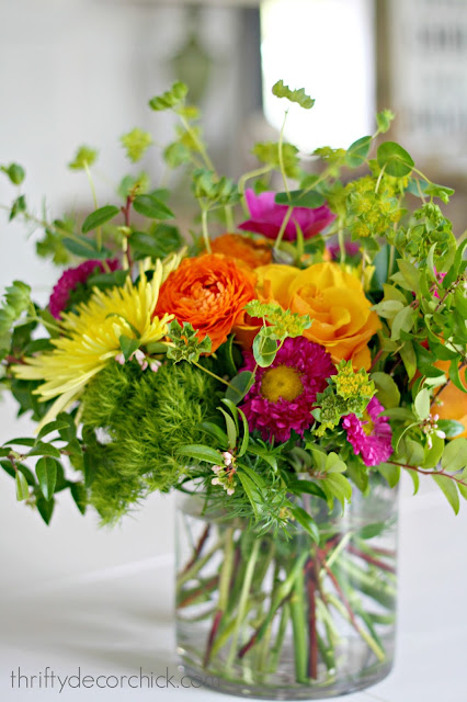 DIY floral arranging tips