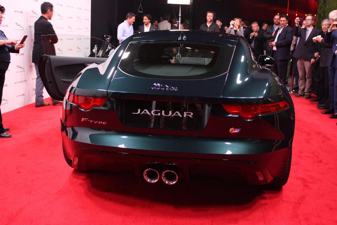 © Automotiveblogz: 2015 Jaguar F-Type Coupe LA 2013 Photos