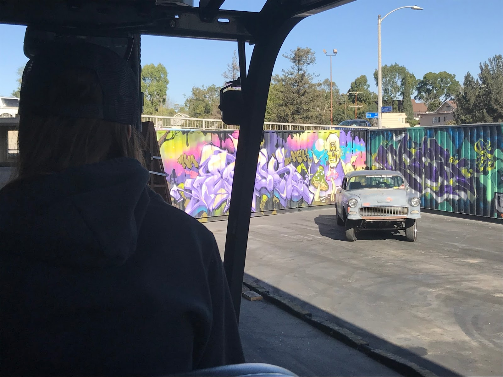 Interesting forklift paint job osha forklift training for more information on forklift training in long beach or the so cal area contact forklift forkliftuniversity xflitez Images